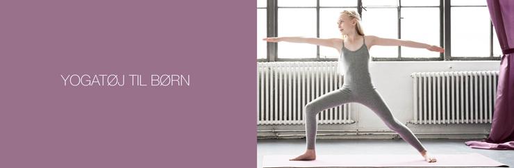 Yogatøj til børn