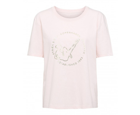 T-shirt i bomuld
