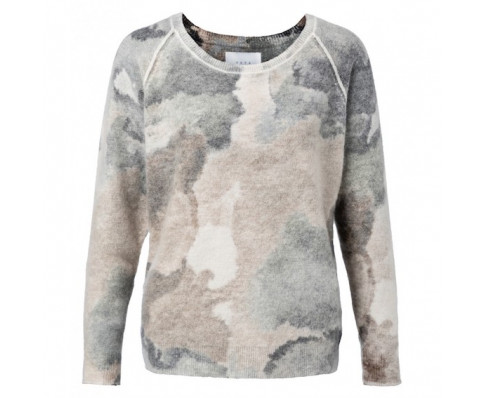 Mønstret sweater