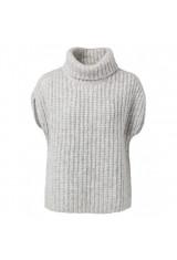 Sweater i mohair og viscose