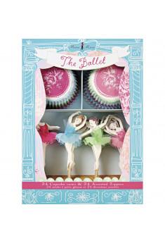 Ballerina cup cake sæt
