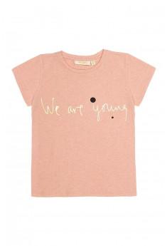 T-shirt med kort ærme