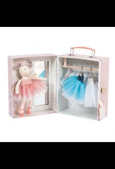 Ballerina mus i kuffert