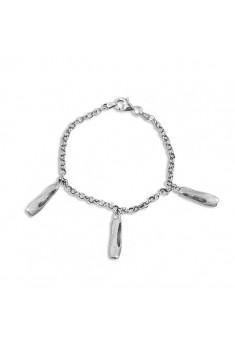 Sølv armbånd med tåspidssko