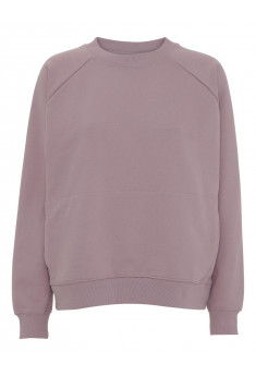 Sweater i 100% økologisk bomuld