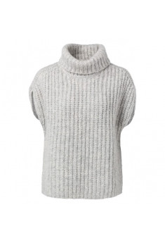 Sweater i mohair og viscose