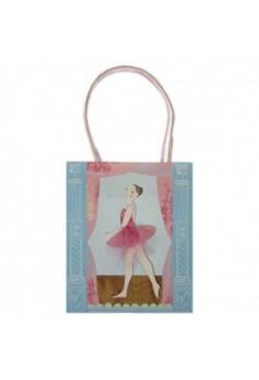 Gavepose med ballerina tryk
