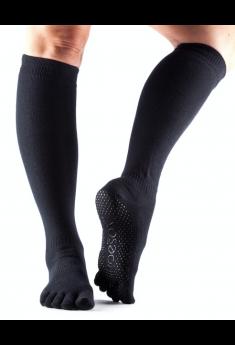 Lange skridsikre toesox - full toe grip