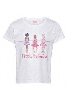T-shirt med ballerinaer