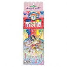 Jumbo blyanter med ballerina