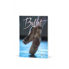 Ballet notesbog A4