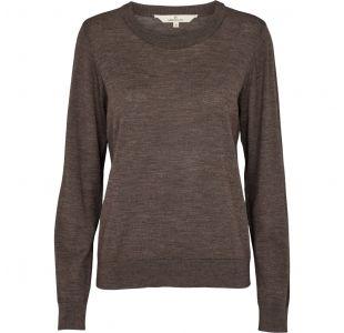 Sweater fra Basic Apparel i 100% merinould