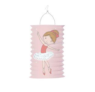 Ballerina lanterne til fest balletpynt til børnefødselsdagen
