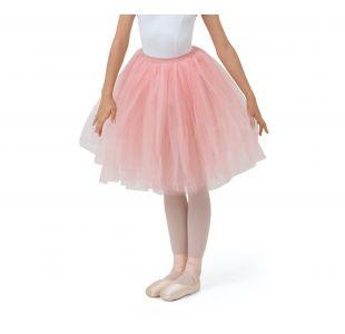 Lang tutu fra Repetto til børn i fin rosa farve