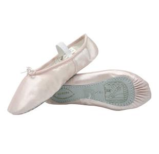 Nybegynder balletsko Balletsko i satin Sansha balletsko