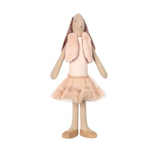 Ballet kanin med fin tut og vest fra Maileg