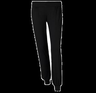 Viscose bukser i sort fra Stræk & Bøj's egen kollektion.